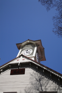 札幌時計台の写真素材 [FYI00090790]