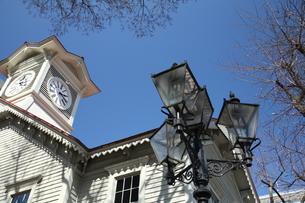 札幌時計台の写真素材 [FYI00090802]