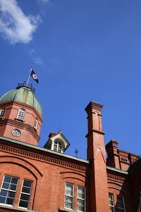 北海道庁赤れんが庁舎の写真素材 [FYI00090814]
