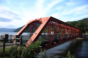山線鉄橋の写真素材 [FYI00090825]