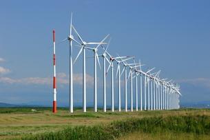 風力発電の写真素材 [FYI00090846]