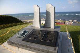 ラペルーズ顕彰記念碑の写真素材 [FYI00090958]