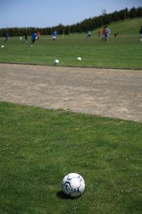 サッカーボールの素材 [FYI00091003]