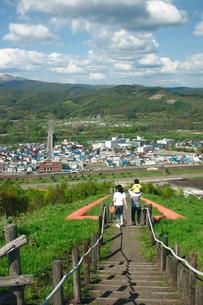 赤平ズリ山の写真素材 [FYI00091144]