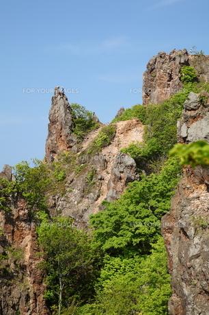 赤岩海岸の絶壁の素材 [FYI00091185]