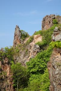 赤岩海岸の絶壁の写真素材 [FYI00091185]
