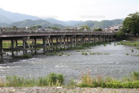 渡月橋の写真素材 [FYI00091473]