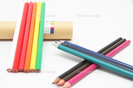 12色の色鉛筆の写真素材 [FYI00091508]