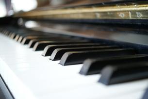 ピアノ鍵盤の写真素材 [FYI00091576]