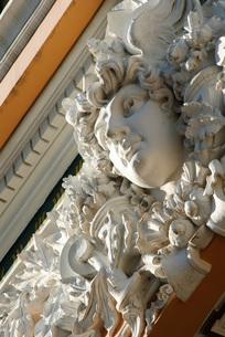 サイゴンの郵便局 彫像の写真素材 [FYI00091770]