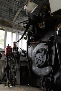 ダラット駅の蒸気機関車の素材 [FYI00091825]