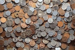 沢山の硬貨の素材 [FYI00092002]