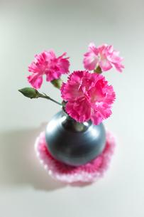 テーブルに春色の写真素材 [FYI00092163]
