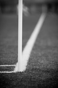 サッカー場のコーナーの写真素材 [FYI00092174]