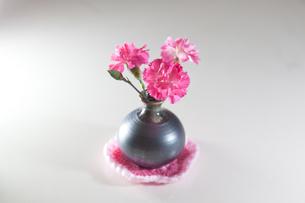 テーブルに春色の写真素材 [FYI00092194]