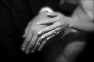 手と手の写真素材 [FYI00092212]