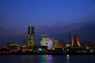 横浜の夜景の写真素材 [FYI00092229]