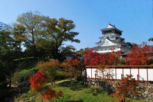 小倉城の写真素材 [FYI00092306]