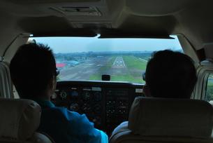 着陸の写真素材 [FYI00092318]