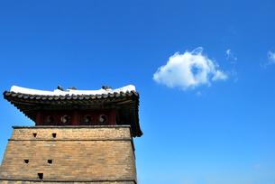 世界文化遺産の華城の写真素材 [FYI00092335]
