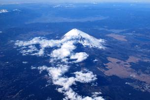 富士山遠望の写真素材 [FYI00092337]