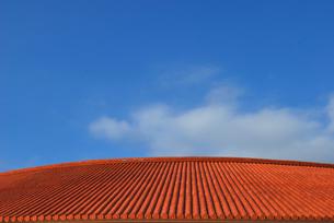 おきんわの屋根の写真素材 [FYI00092352]