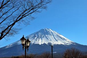 冨士山の写真素材 [FYI00092373]