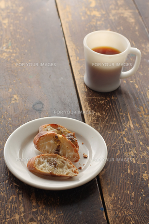 パンとコーヒーの写真素材 [FYI00092467]