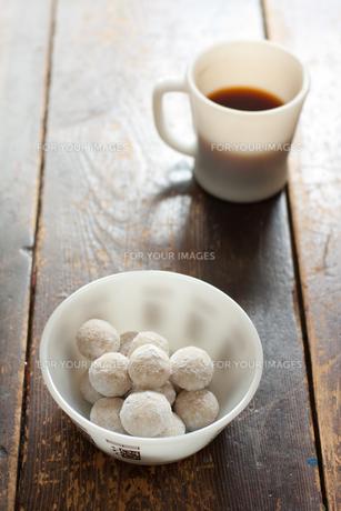 スノーボールクッキーの素材 [FYI00092503]