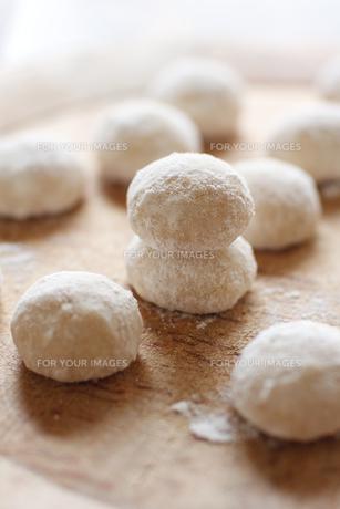 スノーボールクッキーの素材 [FYI00092506]