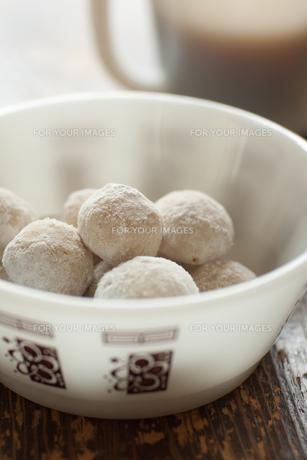 スノーボールクッキーの素材 [FYI00092509]