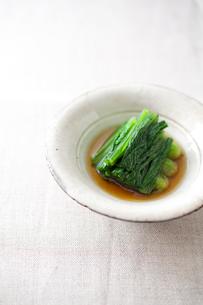 小松菜のお浸しの素材 [FYI00092843]