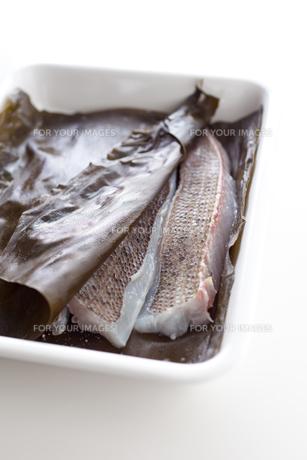 鯛の昆布締めの素材 [FYI00092884]