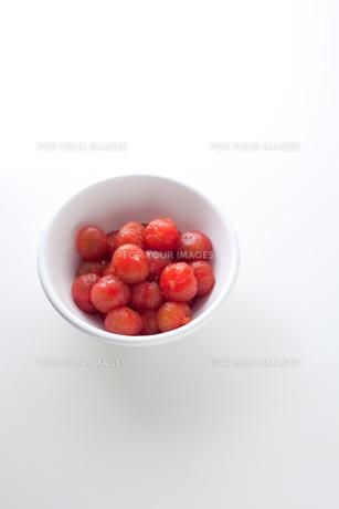 湯剥きしたミニトマトの素材 [FYI00093086]