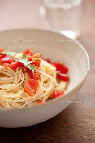 トマトの冷製パスタの素材 [FYI00093249]