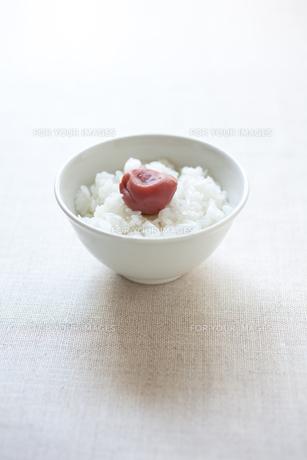 梅干しご飯の素材 [FYI00093282]