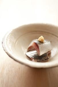 マイワシの刺身の写真素材 [FYI00093507]