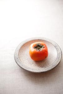 柿と粉引きの和食器の素材 [FYI00093517]