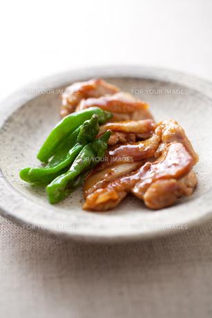 鶏の照り焼きの素材 [FYI00093521]