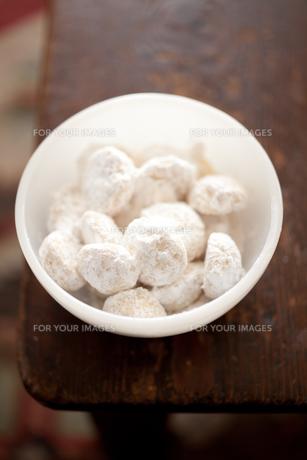 スノーボールクッキーの素材 [FYI00093612]