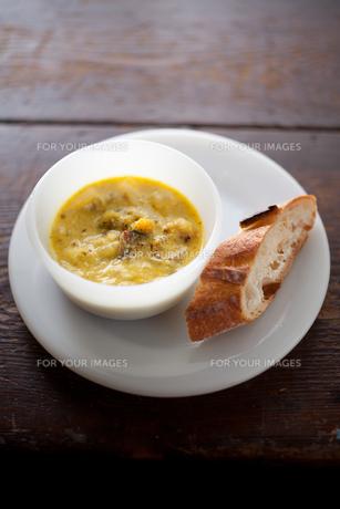 スープとパンの素材 [FYI00093646]