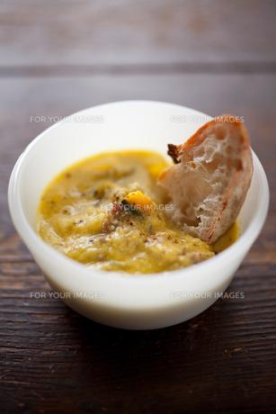 スープとパンの素材 [FYI00093674]