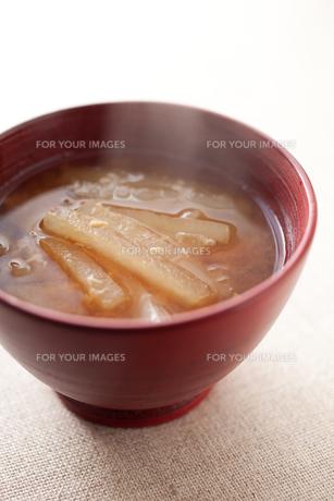 大根の味噌汁の素材 [FYI00093678]