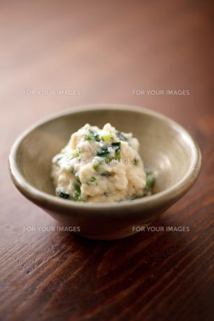 小松菜の白和えの素材 [FYI00093757]