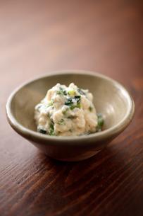 小松菜の白和えの写真素材 [FYI00093757]