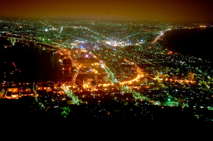 函館の夜景の素材 [FYI00093928]
