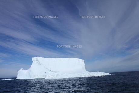 南極の流氷の写真素材 [FYI00093955]
