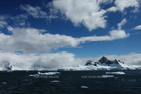 南極の景色の写真素材 [FYI00093960]