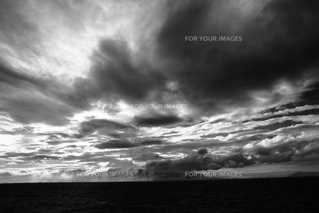 南極の雲の写真素材 [FYI00093964]