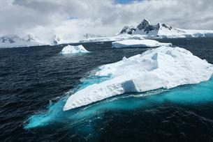 南極氷河の素材 [FYI00093969]